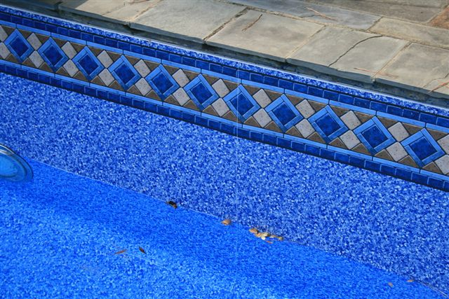 Should i be able to see the liner seams in my vinyl pool for Inground pool liners