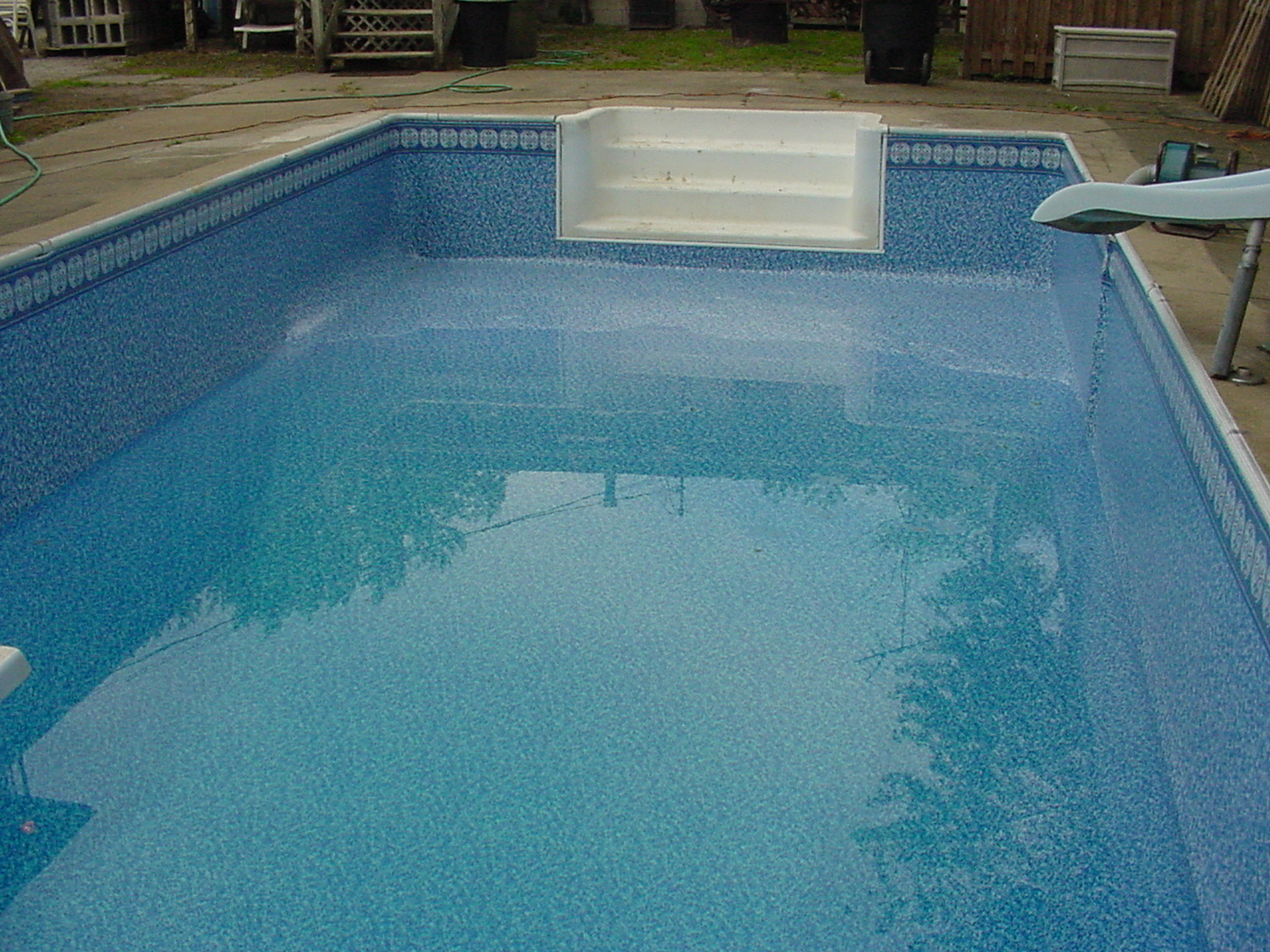 What is the best type of construction to use when building for Best in ground pool