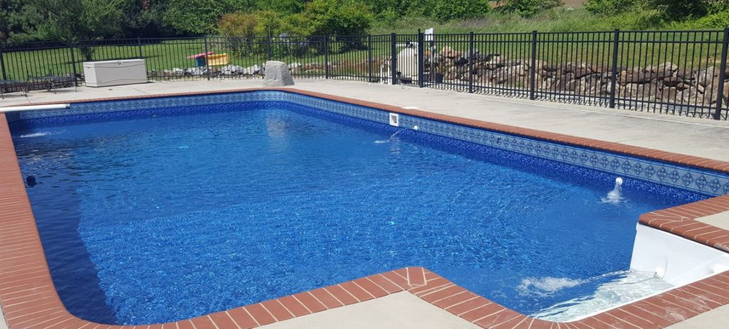 Mcdowell in ground swimming pool liner pattern inground liners blog for Swimming pool liners for inground pools