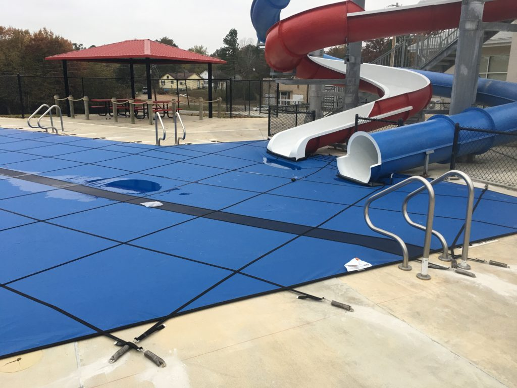Commercial Pool Super Solid Safety Cover Inground Liners