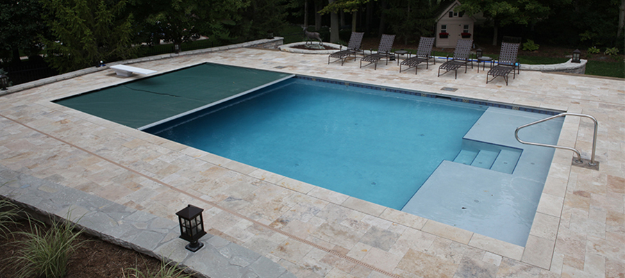 Swimming Pool Covers : Automatic safety covers mcewen industries
