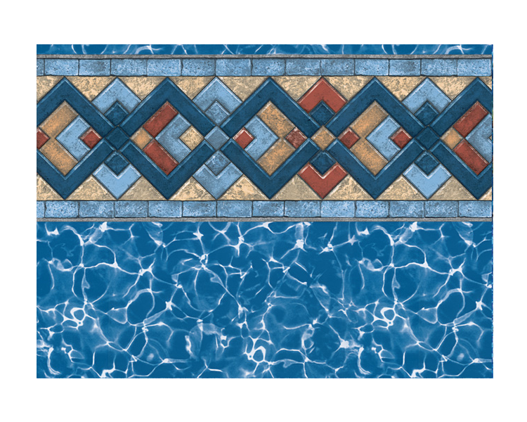 Hunter In-Ground Swimming Pool Vinyl Liner