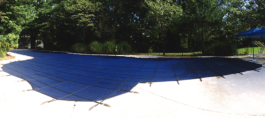 30 ft x 80 ft great fitting custom safety pool cover