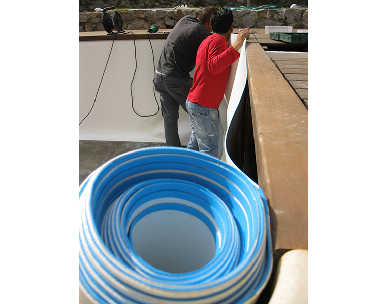 60 Mil Commercial Grade Weld On-Site Liners