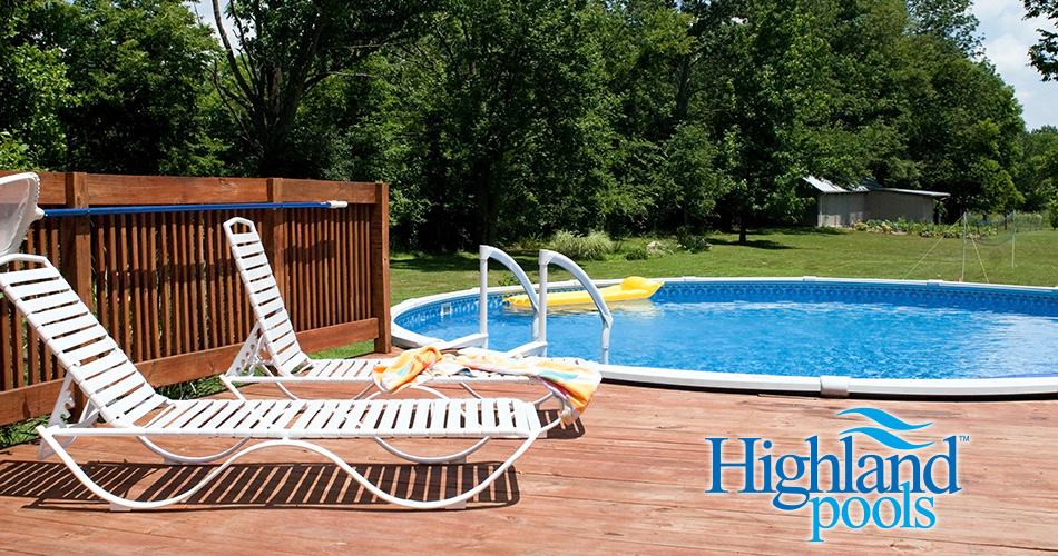 above ground pools, above ground swimming pools, highland pools, highland above ground pools