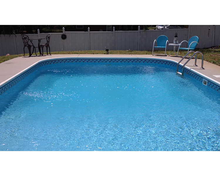 pence inground pool liner pattern