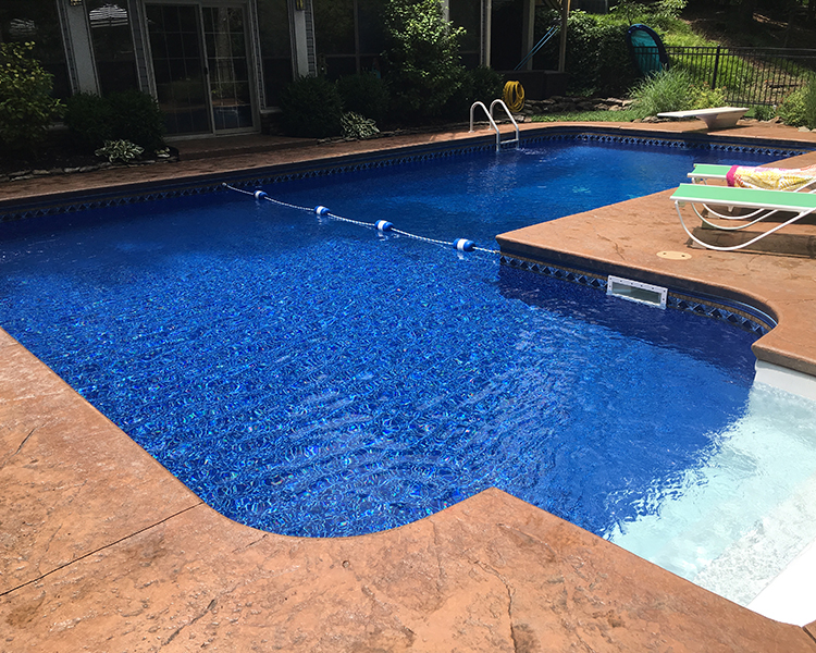 henderson inground pool liner