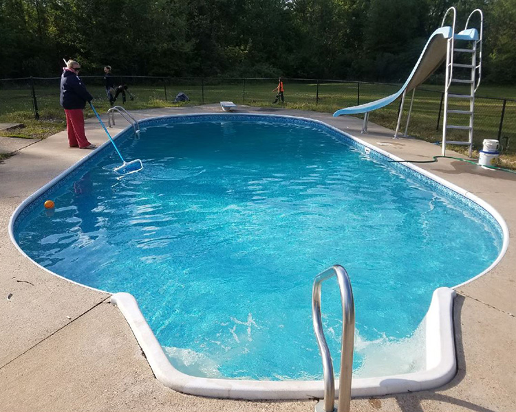 Ross In-Ground Swimming Pool Vinyl Liner